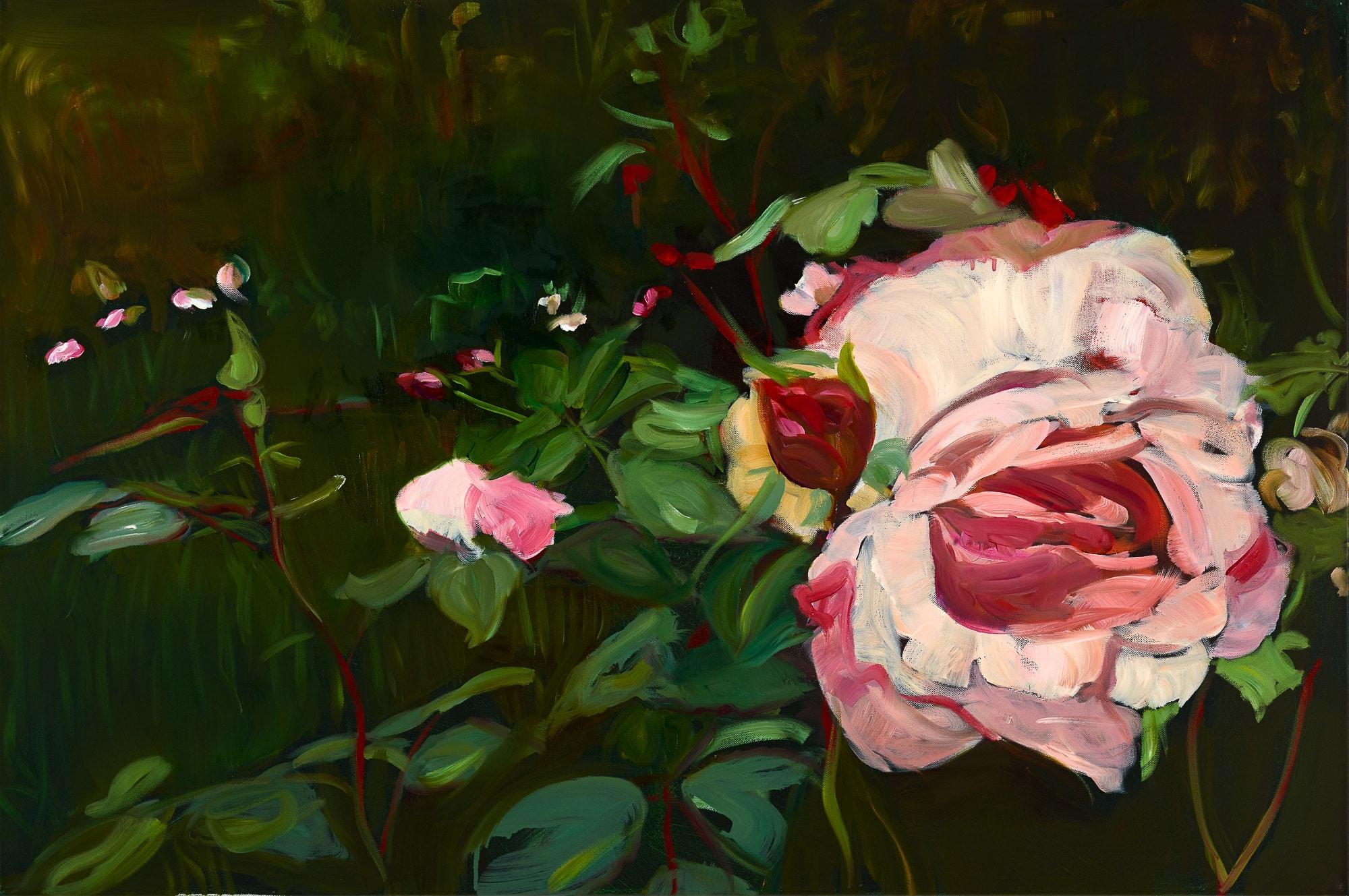 Eine Rose…( aus dem Herzfeld-Zyklus)