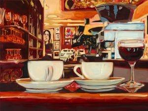 Zwei Tassen Paris Bar