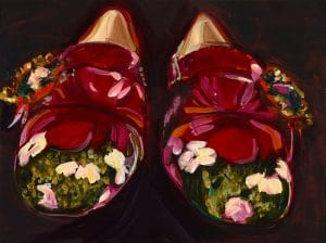 Shakespeare Pantoffeln, aus Serie Killing me softly...