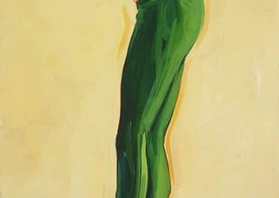 Grüne Strümpfe
