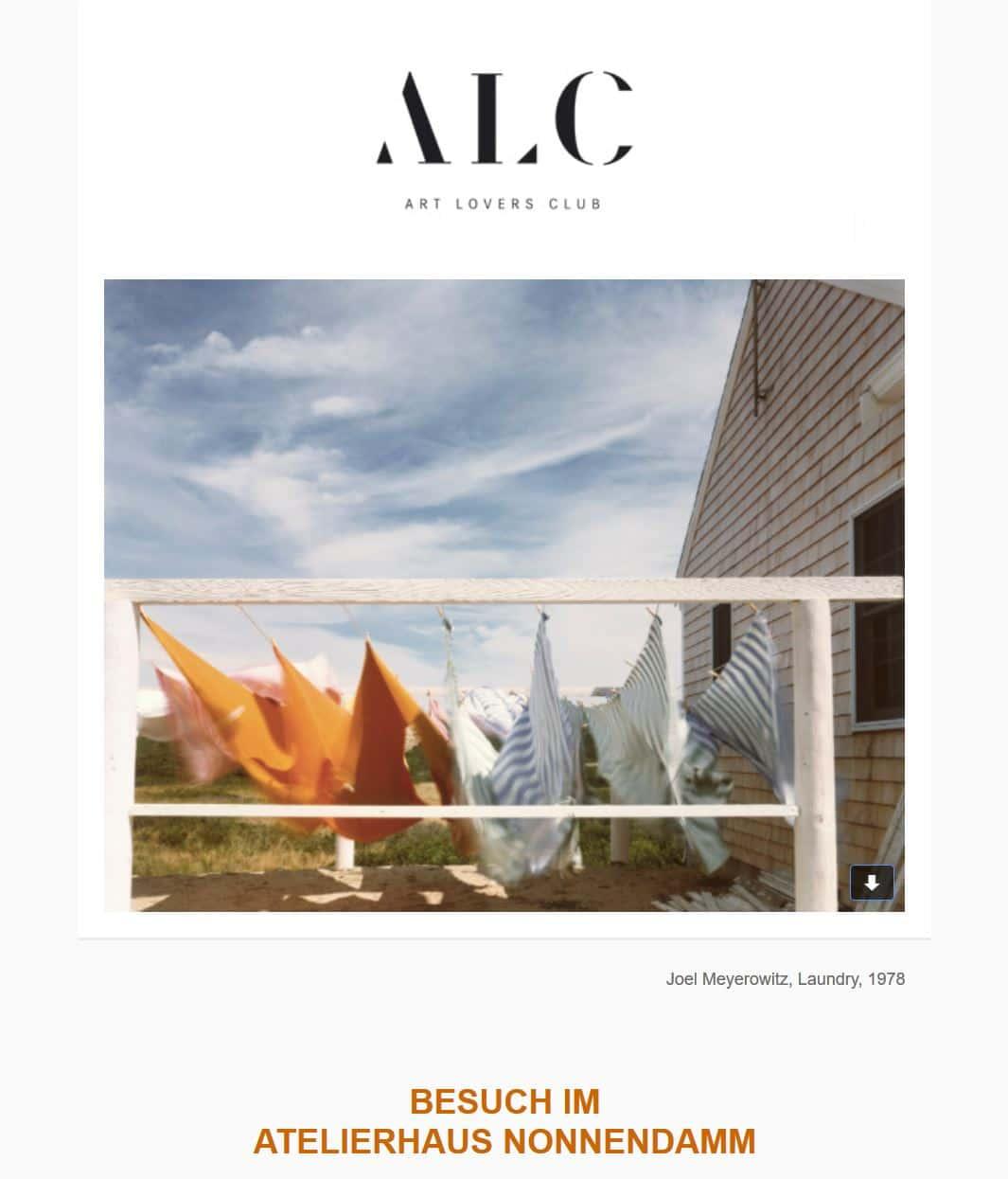 ALC Einladung Besuch im Atelierhaus Nonnendamm| Caroline Weihrauch| Dienstag, den 29.Mai 18.00